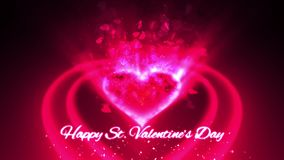 Glamour Love Background. For Valentine's Day stock video