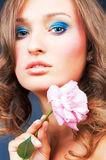 Glamour make-up Royalty Free Stock Photography