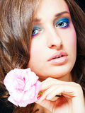 Glamour make-up Royalty Free Stock Photo
