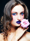 Glamour make-up Royalty Free Stock Images