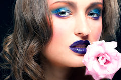 Glamour make-up Stock Photography