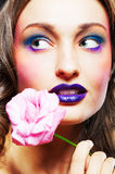 Glamour make-up Royalty Free Stock Image