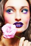Glamour make-up Royalty Free Stock Image