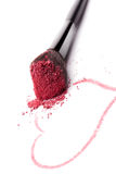 Luxurious glamour makeup background. Stock Photography