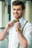 Glamour man Royalty Free Stock Images