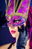 Glamour mask Stock Images
