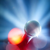 Glamour microphone stock images