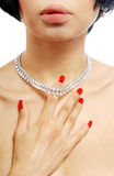 Glamour necklace Stock Photo