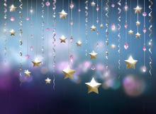 Glamour party abstract background. 3D render Stock Image