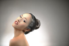 Glamour picture of an asian girl Royalty Free Stock Image