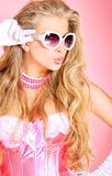 Glamour pink Stock Images