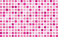 Glamour pink mosaic. Vector background Stock Photos