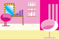 Glamour pink room Royalty Free Stock Photos
