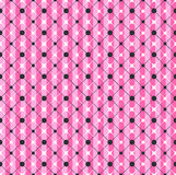 Glamour Pink Striped Geometric Pattern. Glamour Pink Striped Geometric Seamless Pattern vector Stock Photos