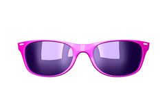 Glamour pink sunglasses Stock Photography