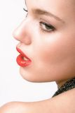 Glamour portrait Royalty Free Stock Images