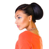 Glamour portrait of beautiful woman Stock Photography