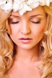 Glamour portrait of beautiful woman Royalty Free Stock Image