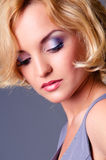Glamour portrait of beautiful woman Royalty Free Stock Images