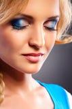 Glamour portrait of beautiful woman Stock Image