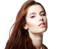 Glamour portrait Royalty Free Stock Photography