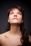Glamour portrait of beautiful women Stock Photos