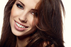 Glamour Portrait of sexy woman Royalty Free Stock Image