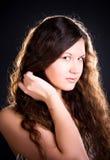 glamour portrait woman στοκ εικόνες
