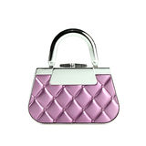 Glamour purse isolated Stock Images