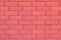 Glamour red brick wall background Stock Photography