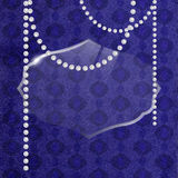 Glamour romantische uitstekende vectorachtergrond stock illustratie