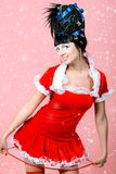 Glamour santa Stock Photos