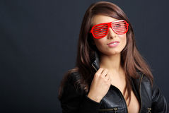 Glamour and sexy  girl Royalty Free Stock Image