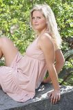 Glamour sexy portrait Stock Photo