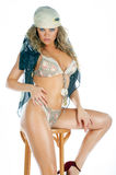 Glamour sexy woman portrait Stock Photos