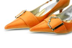 Glamour shoes Royalty Free Stock Image