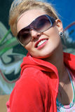 Glamour smile Royalty Free Stock Photography