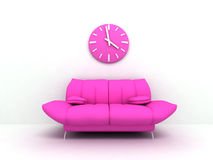 Glamour sofa Stock Photography