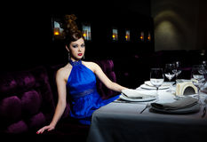 Glamour supper Royalty Free Stock Photography