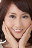 Glamour van Aziatische schoonheid Royalty-vrije Stock Foto