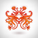 Glamour vintage ornate element Royalty Free Stock Photography