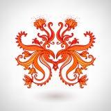 Glamour vintage ornate element. Glamour vector vintage ornate element vector illustration