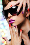Glamour woman Stock Photos