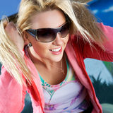 Glamour woman Stock Images