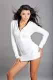 Glamour woman. hairstyle Stock Photos