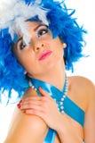 Glamour woman portrait Royalty Free Stock Photo