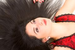 Glamour woman portrait Stock Image