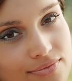 Glamour women closeup Stock Image