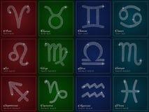 Glamour Zodiac sign design. Stock Image