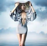 glamourkvinna Royaltyfri Fotografi